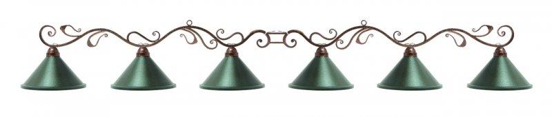 Лампа на шесть плафонов Антик 75.900.06.0