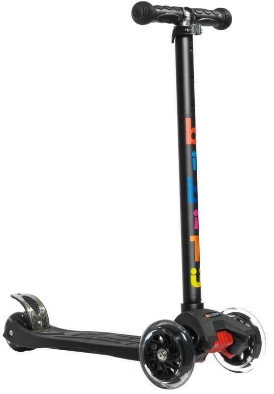 Купить Самокат детский BiBiTu тротинетка 3-х колесный CAVY SKL-07-BK черный,