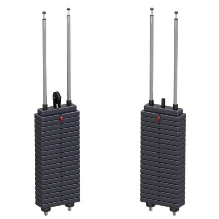 Грузоблочный стек ARMS (55 кг) блоковый ARV049