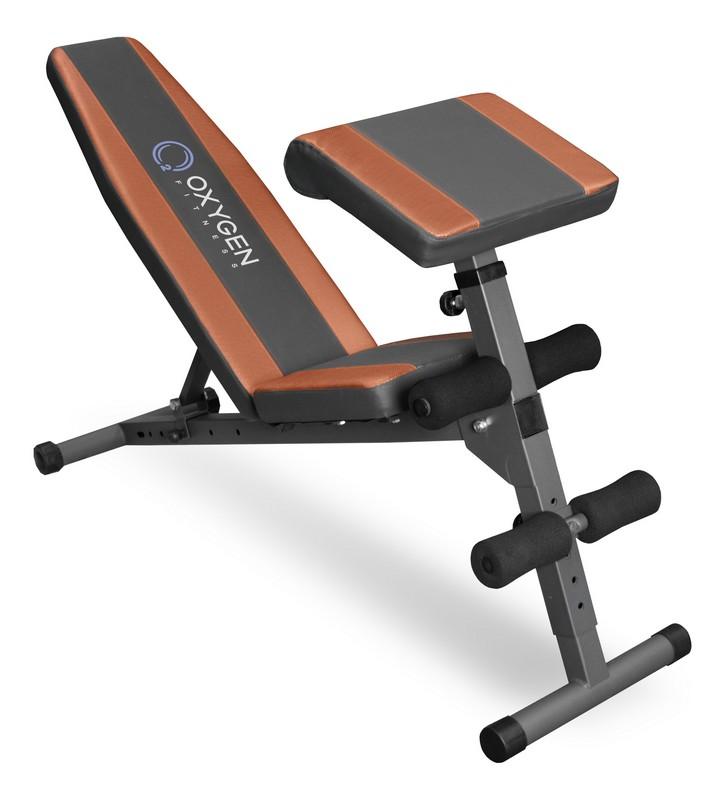Купить Силовая скамья Oxygen Fitness Dallas II,