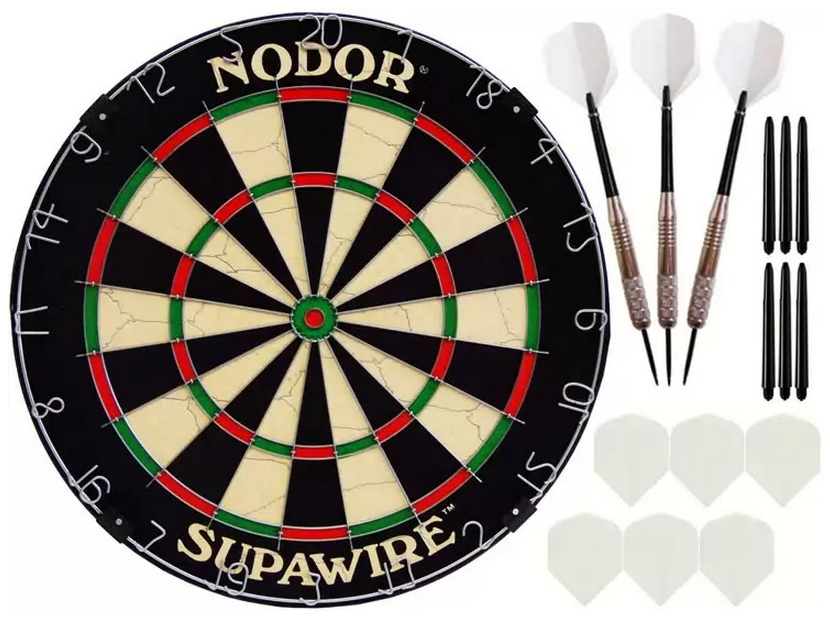 Комплект для игры в Дартс Nodor Prime дротики nodor nr 607 80