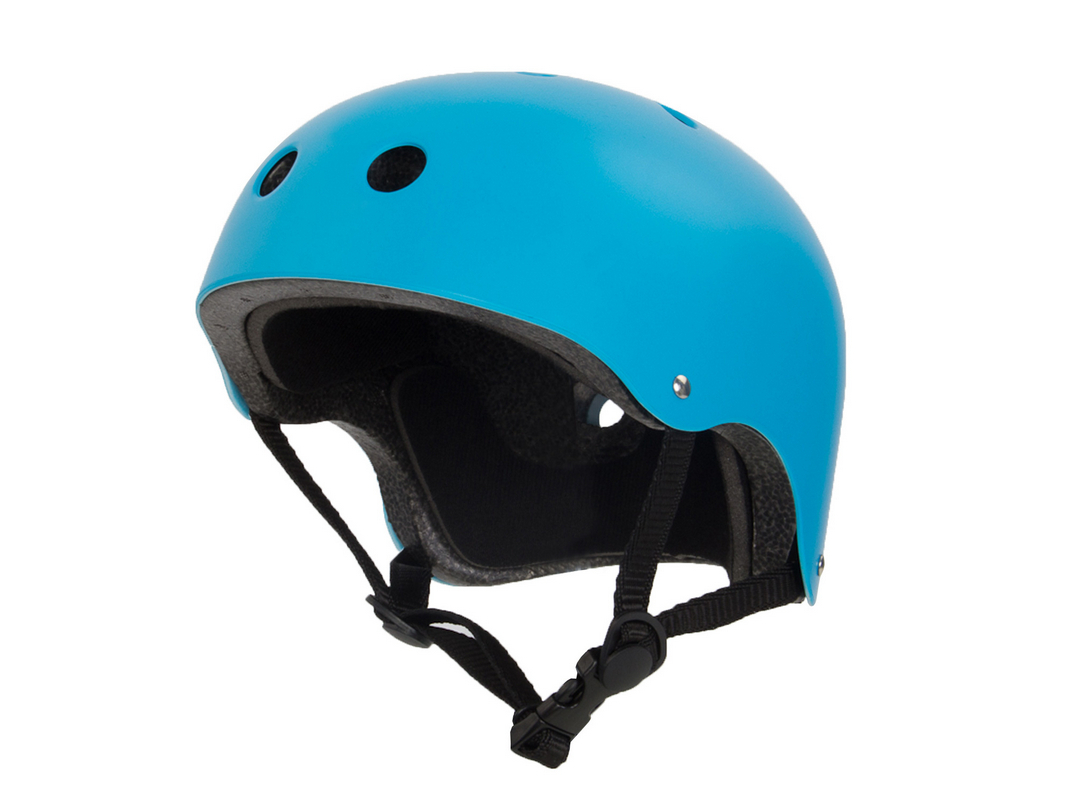 Шлем роликовый Larsen Special (H4) голубой