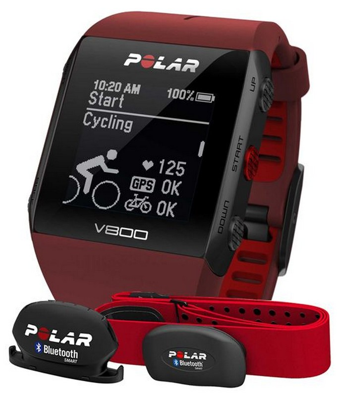 Фитнес-трекер Polar V800 Special Edition Combo Red 90061182