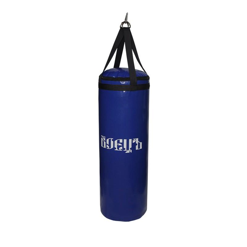 Купить Мешок боксерский 90 см D 31 25 кг Боецъ БМБ-01 синий,