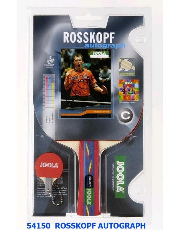 Ракетка для настольного тенниса Joola Rosskopf Autograph 54150 ракетка для настольного тенниса joola competition gold 59560