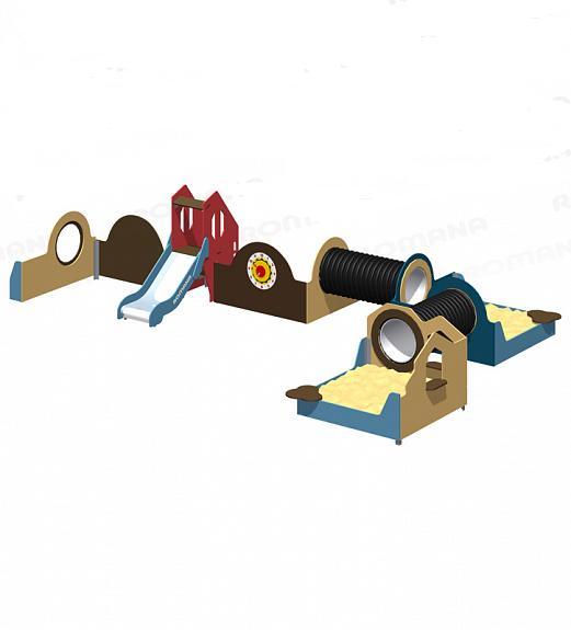 Купить Игровые модули Romana 115.60.00, Детское игровое оборудование