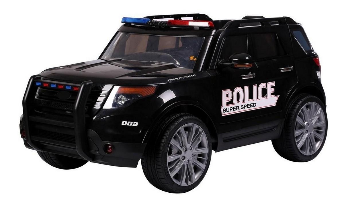 Электромобиль полиция с мигалками Kids Cars KT9935P