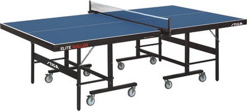 Теннисный стол Stiga Elite Roller CSS 25 мм (синий),  - купить со скидкой