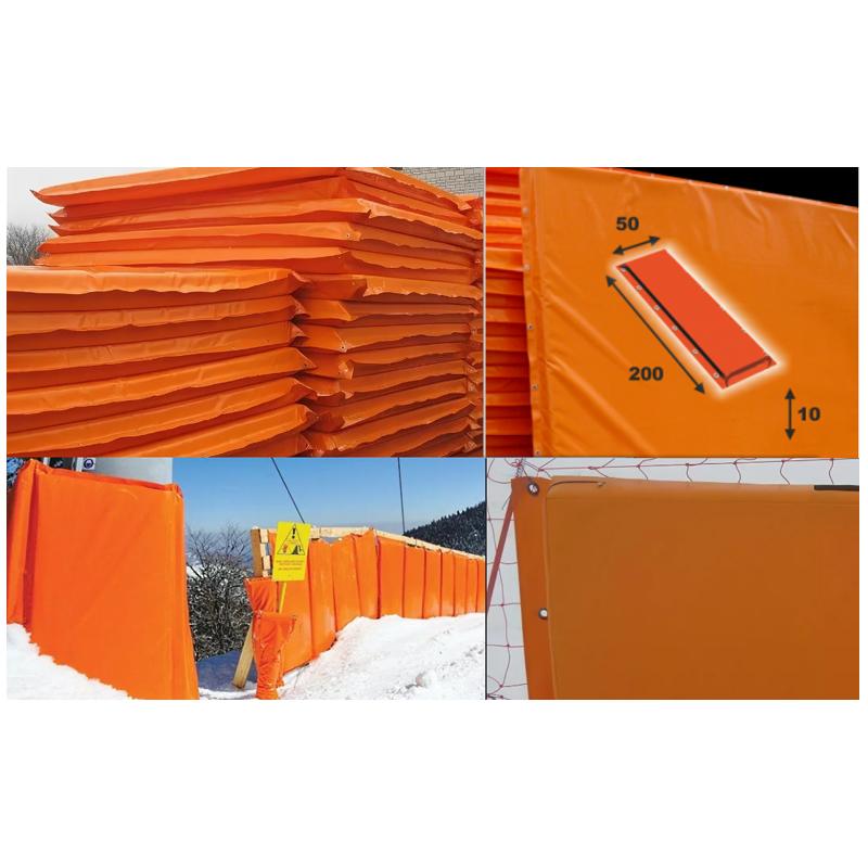 Купить Мат для горнолыжных трасс 200х50х10 см Dinamika Тент (ппу) люверсы ZSO-002890,