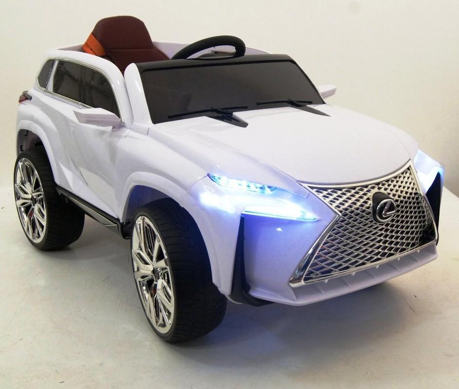 Купить Электромобиль River-Toys Lexus E111KX белый, Детские электромобили