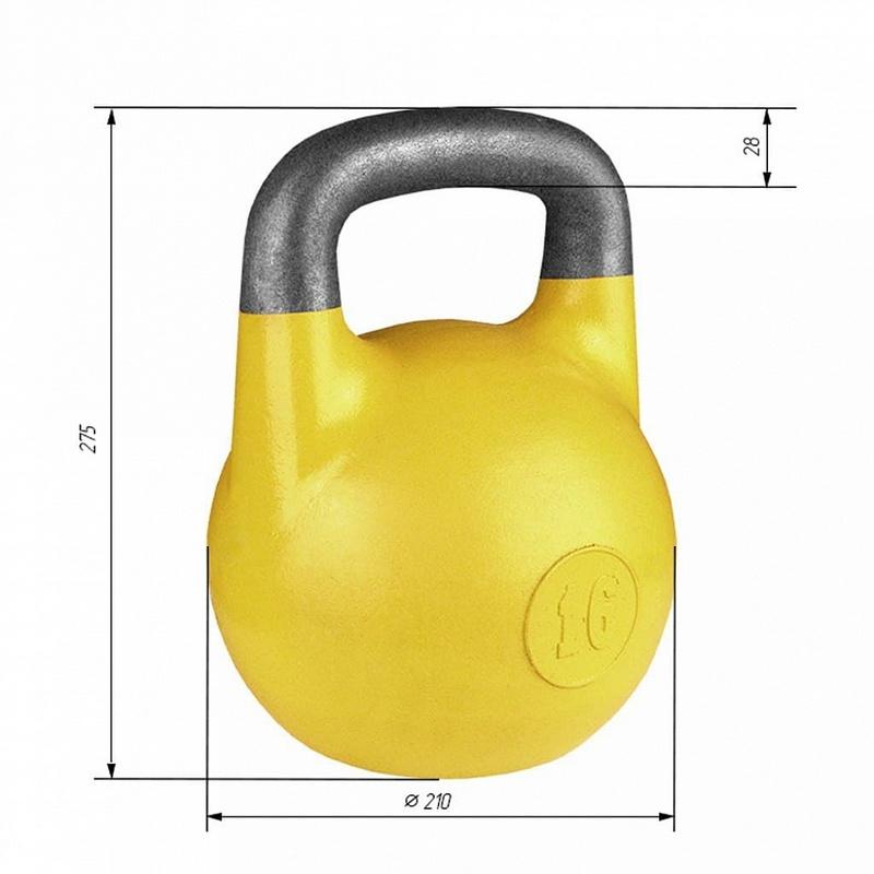 Купить Гиря соревновательная Iron King 16 кг. стандарт 2021,