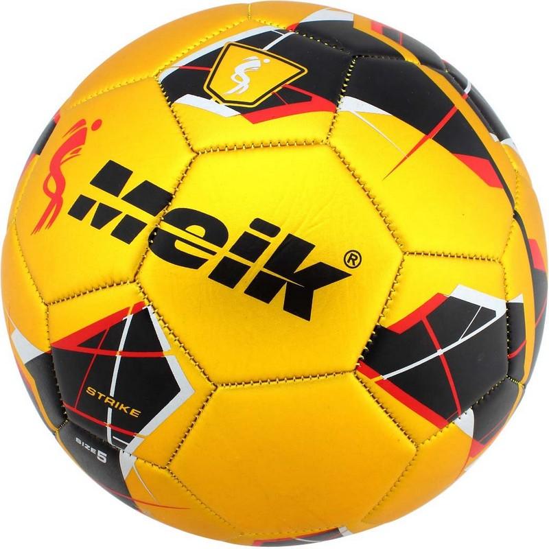 Купить Мяч футбольный Meik 068 B31318-2 р.5 золотой,