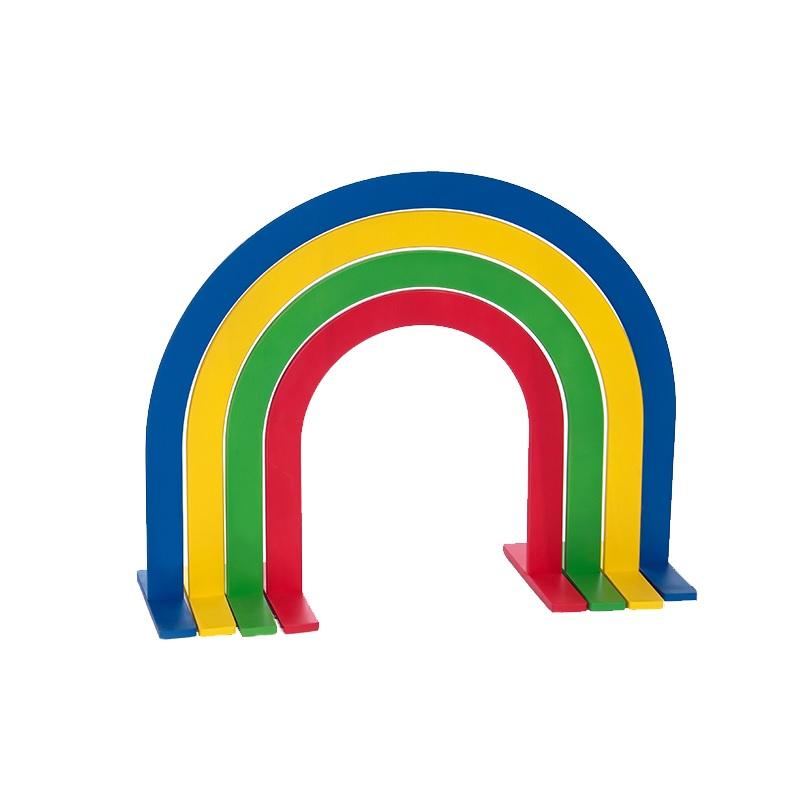 Купить Дуги для подлезания круглые цветные (комплект 4 шт) Dinamika ZSO-002159,