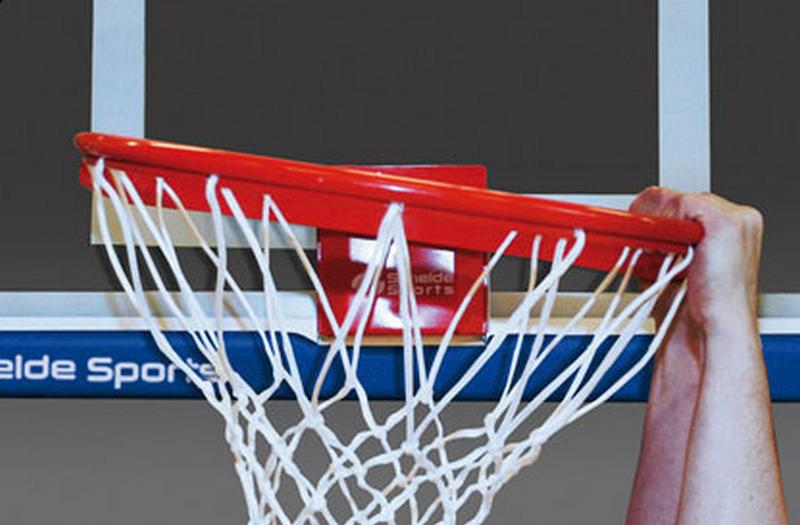 Кольцо баскетбольное пружинящее Pro-Action 180° (индивидуальная конфигурация пробивок) Schelde 1611856 (910-S6.S2025B)