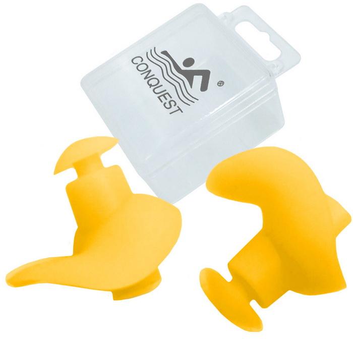 Купить Беруши силиконовые в боксе (желтые) C33554-5, NoBrand
