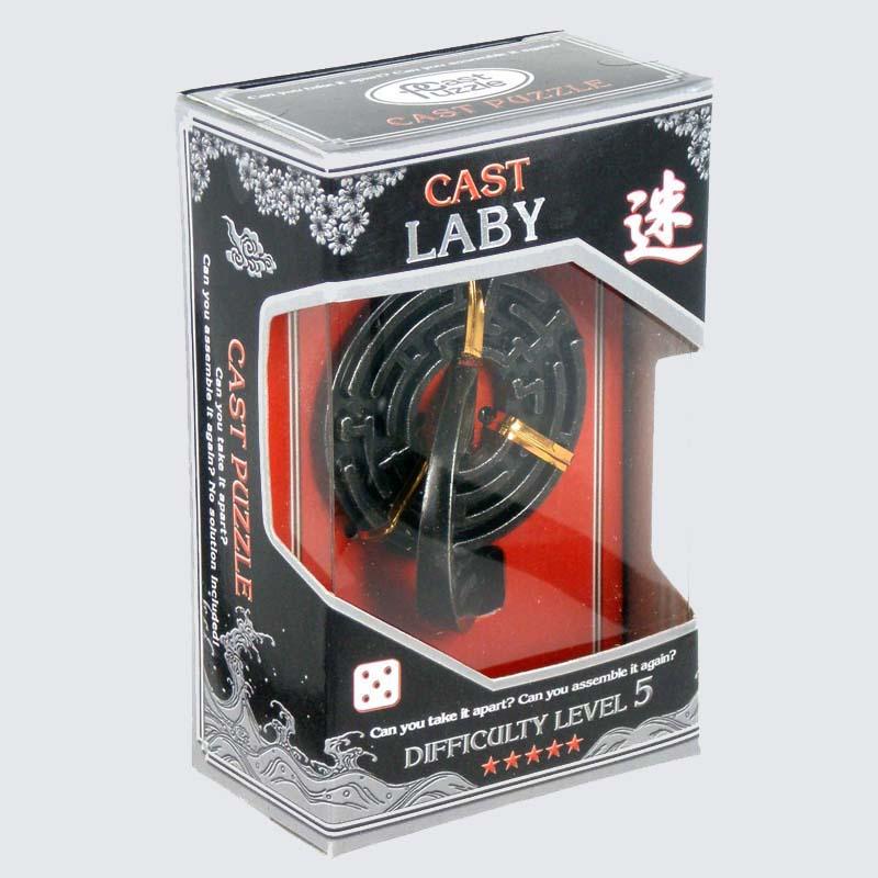 Купить Головоломка Круговой Лабиринт*****/ Cast Puzzle Laby*****, NoBrand, Лабиринты