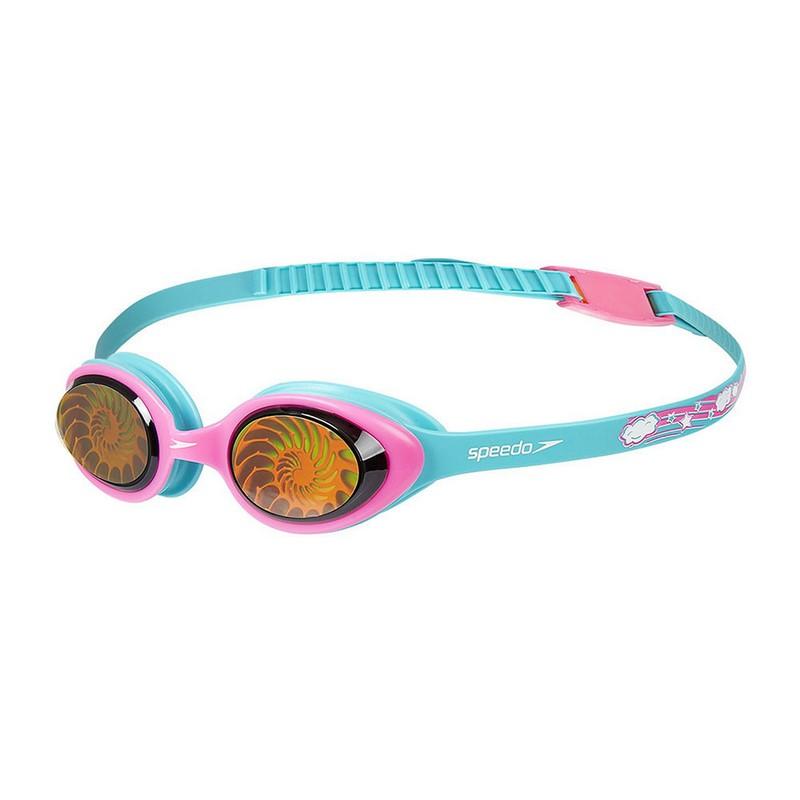 Купить Очки для плавания детские Speedo Illusion 3D Print Jr 8-11597C621,