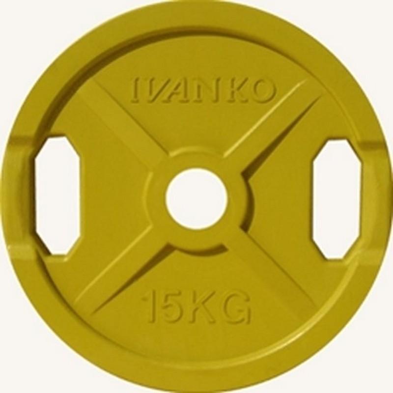 Купить Диск d51 мм Johns 15 кг DR71022 - 15С жёлтый,