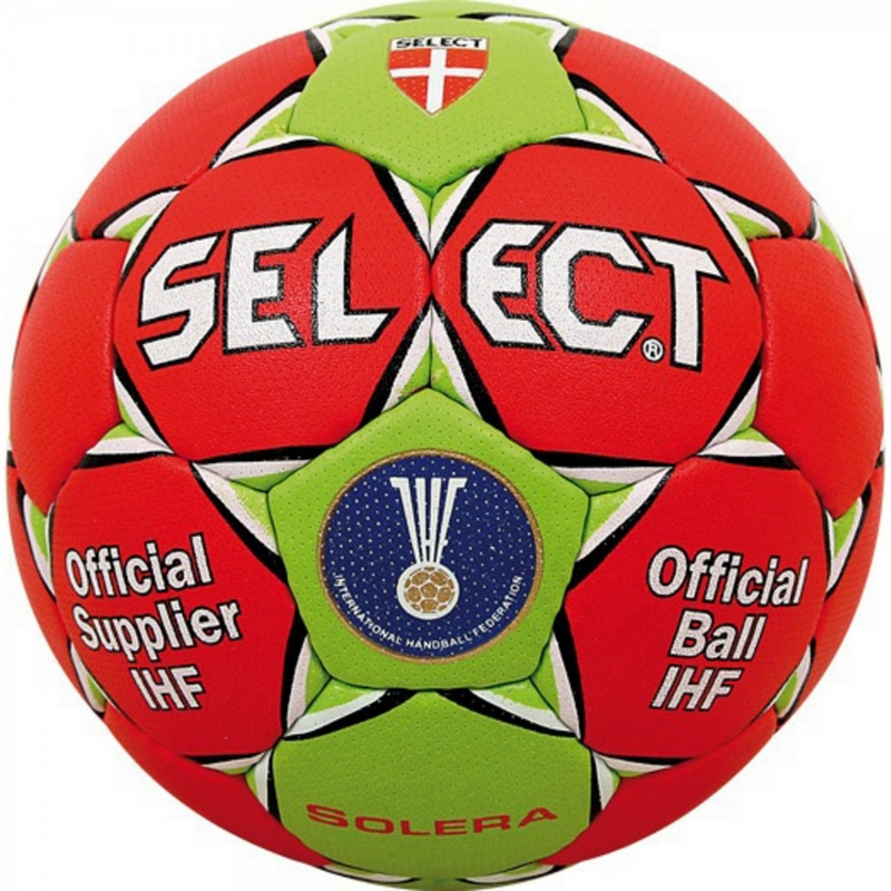 Мяч гандбольный р.0 Select Solera IHF 843408-343 мяч футзальный select futsal talento 11 852616 049 р 3