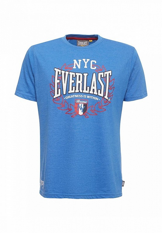 Футболка Everlast Sports Marl NYC синий EVR9025 L NAV