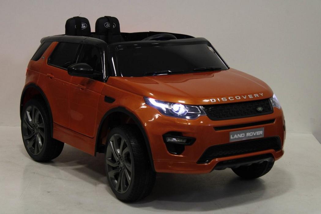 Детский электромобиль River-Toys Land Rover Discovery Sport O111OO Orange