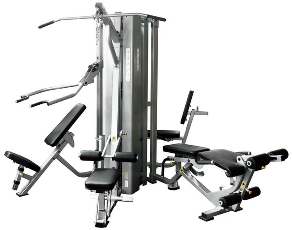 4-х позиционная мультистанция Spirit Fitness BWM109-4 мультистанция 9 ти позиционная marbo mp t003