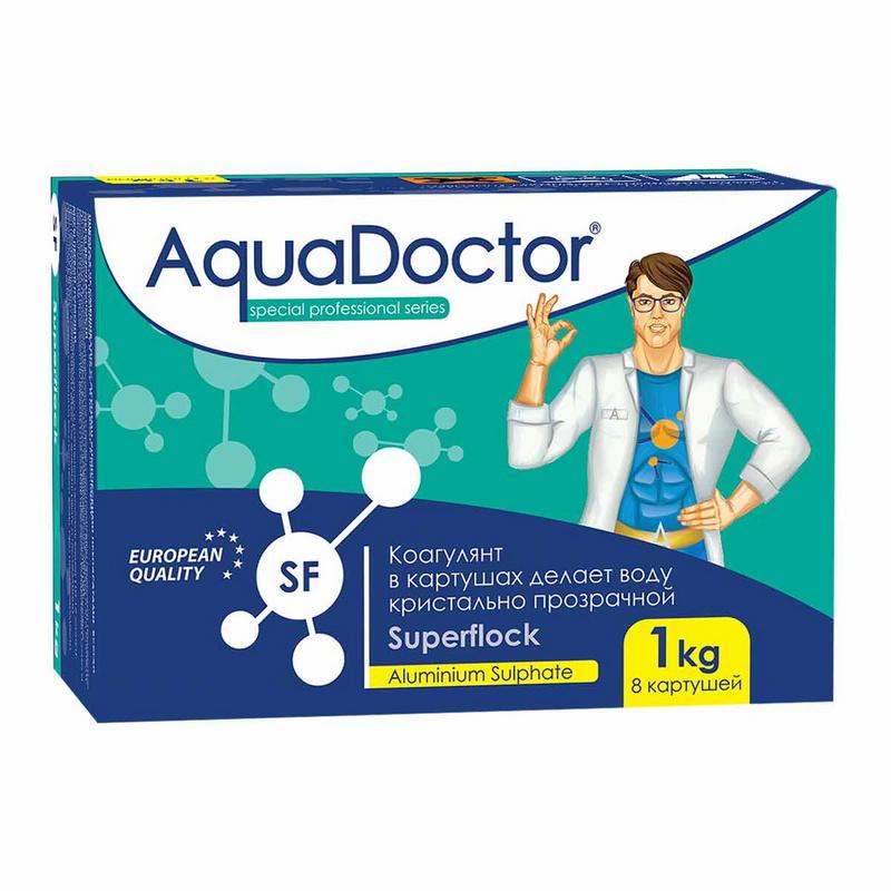 Купить Коагулянт длит. действия AquaDoctor SuperFlock 1 кг SF-1,