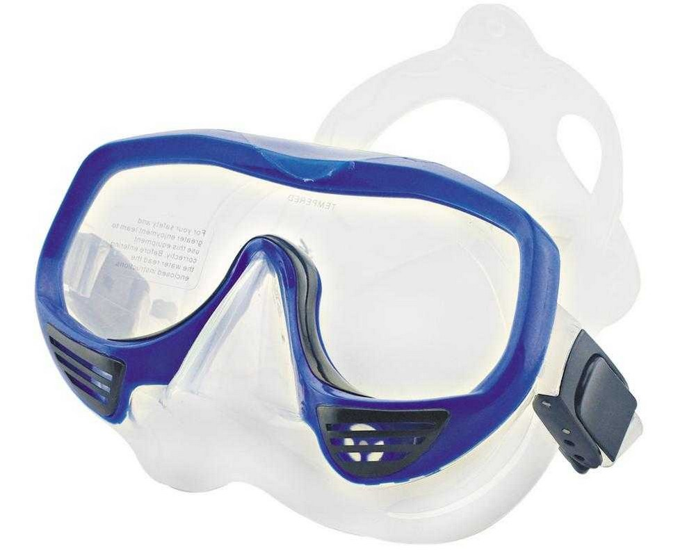 Маска для плавания Atemi 425 синий