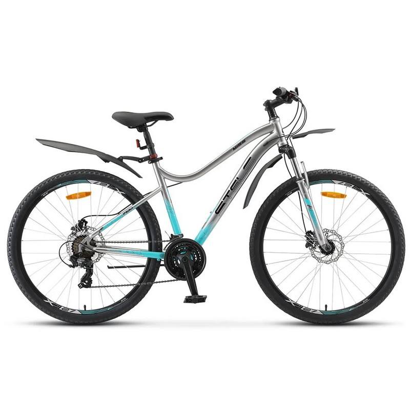 Купить Велосипед Stels Miss-7100 D V010 2020 Хром 27,5Ø (LU094060),