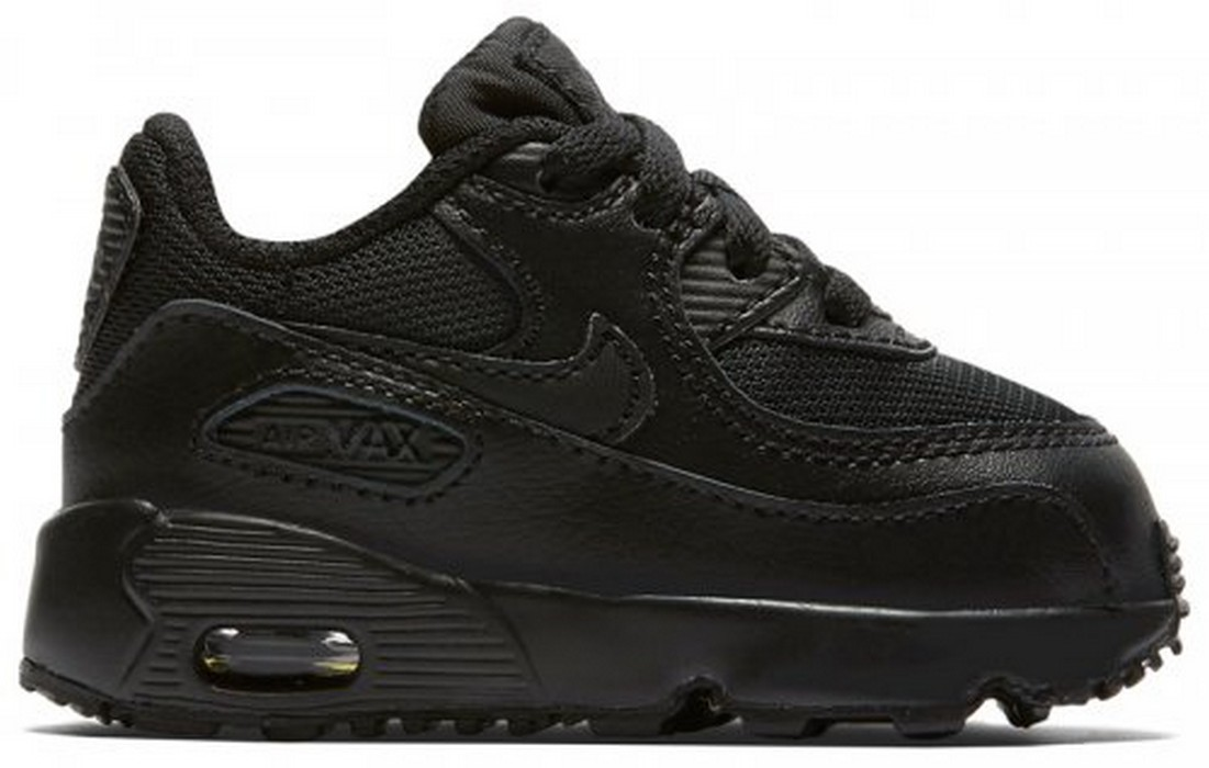 Кроссовки для малышей Nike Air Max 90 Mesh (td) 833422-001, черные nike sportswear кроссовки nike sportswear wmns air max 90 prem