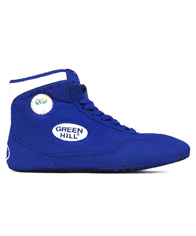 Обувь для борьбы Green Hill GWB-3052/GWB-3055 синий/белый (35-46) обувь для борьбы ascs ascs014 31 32 34