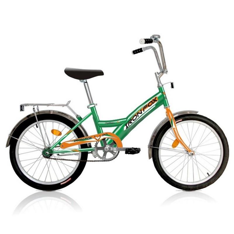 Купить Велосипед детский Iron Fox Derby 20 1ск, (19,20 ) зелёный,