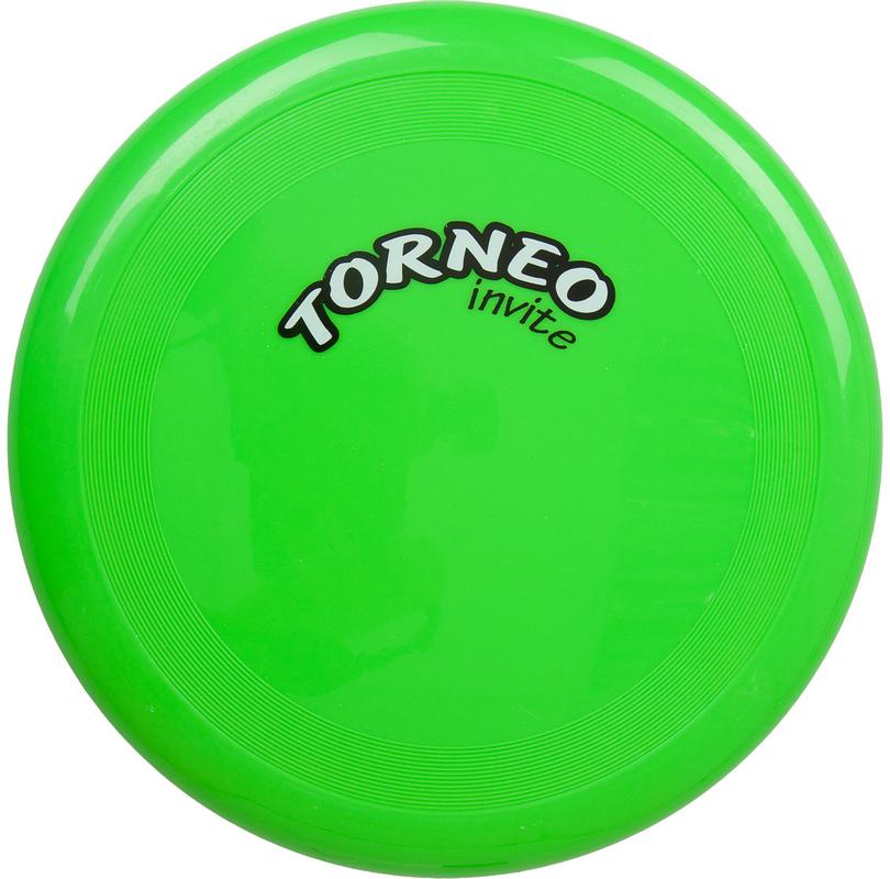 Летающая тарелка, 25 см, зеленая Torneo TRN-F006G