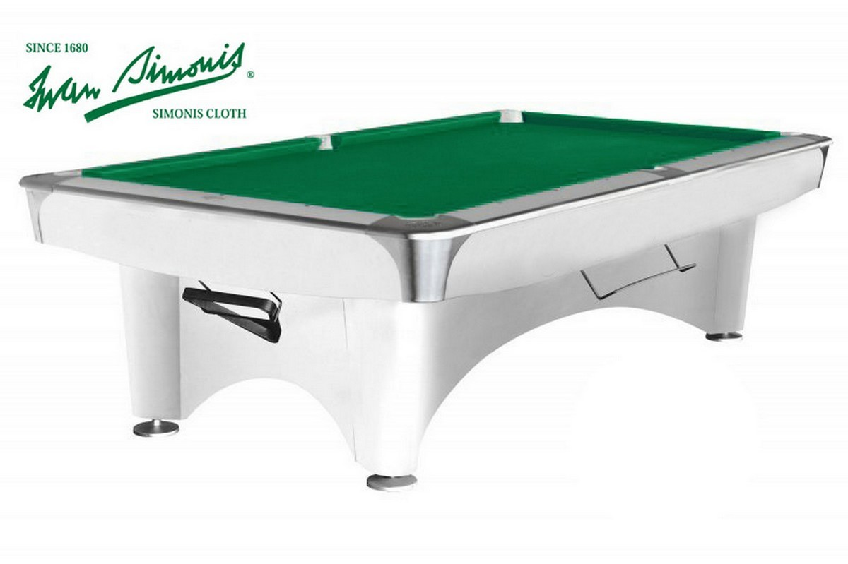 Купить Бильярдный стол для пула Dynamic III 8 ф белый, NoBrand
