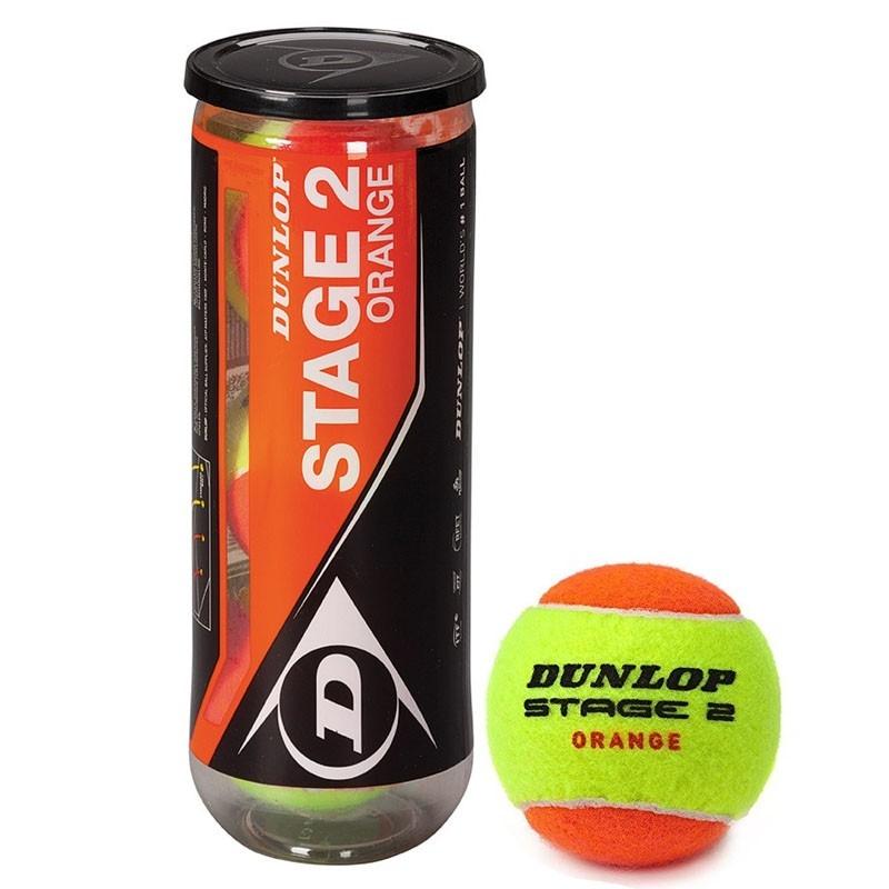 Мяч теннисный Stage 2 упак. 3 мяча Dunlop 602205 dunlop stage 3
