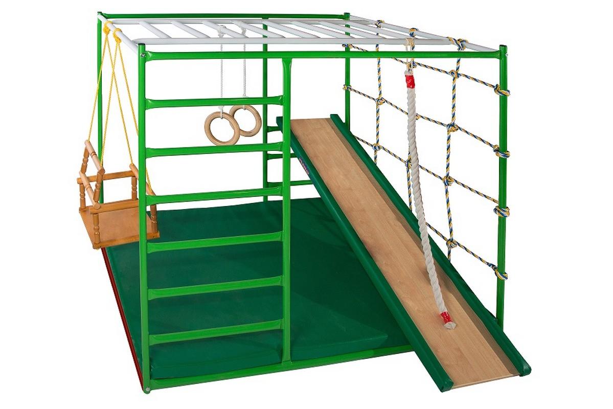 Детский спортивный комплекс КМС Муравейник 1 + с горкой спортивные комплексы