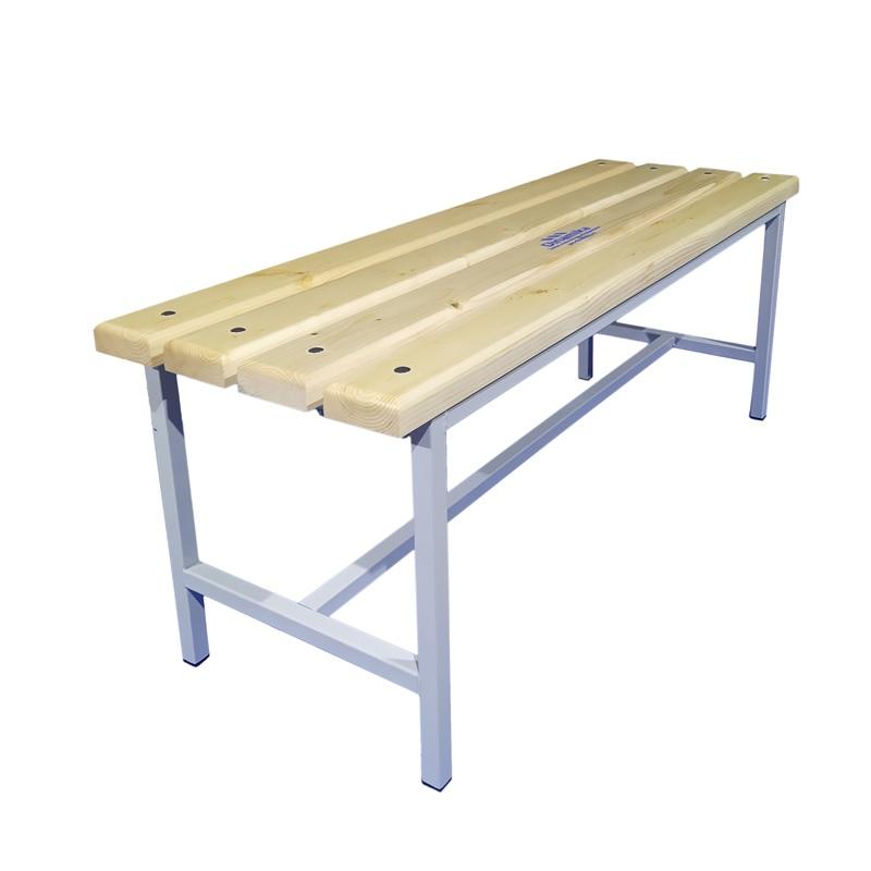 Купить Скамейка для раздевалки 1200 мм сиденье из дерева Dinamika ZSO-002202,
