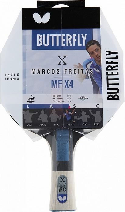 Ракетка для настольного тенниса Buttefly Markos Freitas MFX4, AN
