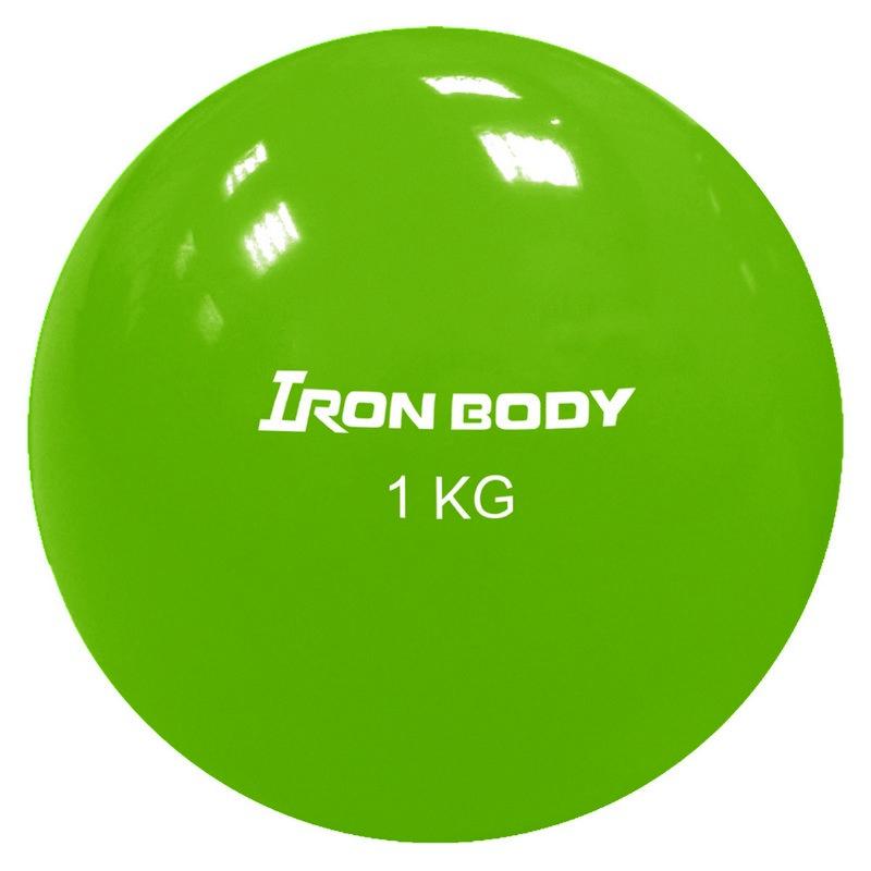 Фитнес бол Iron Body 1792EG-2 1 кг ?11 см