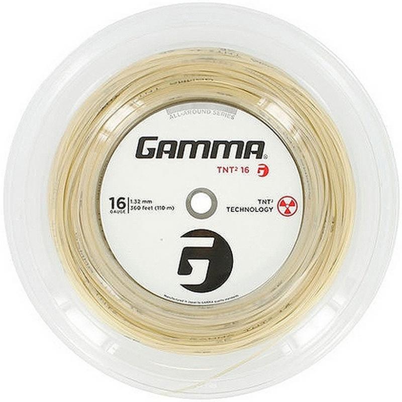 Катушка струн Gamma TNT2 16/1.32 Natural 110 м