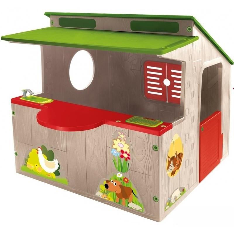 Купить Домик-ферма Mochtoys 11392, Детские игровые домики