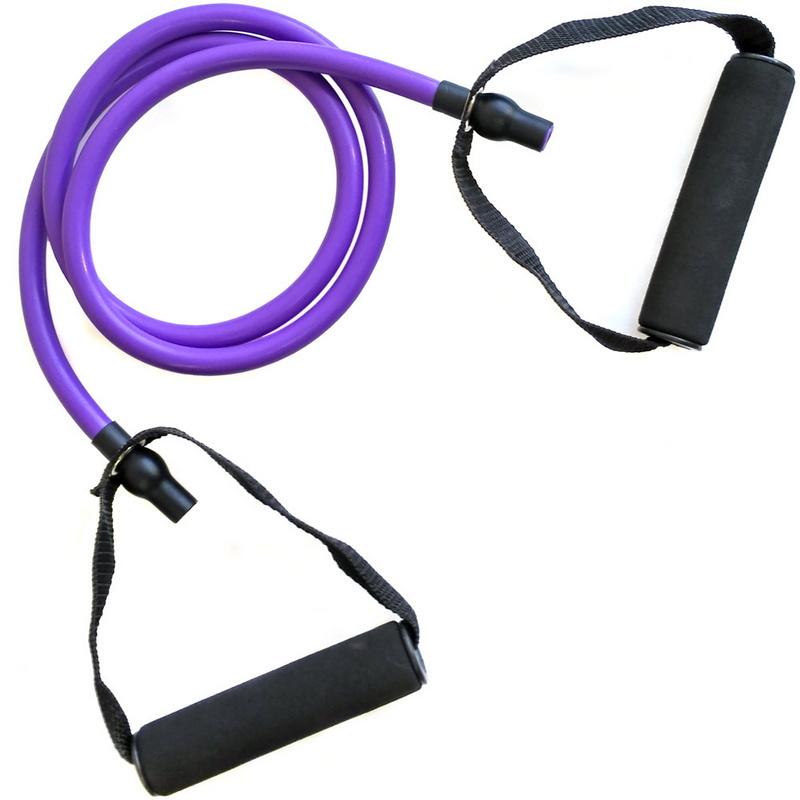 Купить Эспандер для степа 5-EVS ТПР 6 х 12 1200 мм (фиолетовый) MCE202-5, NoBrand