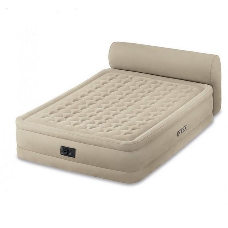 Надувная кровать152х229х46 см Intex Headboard 164460