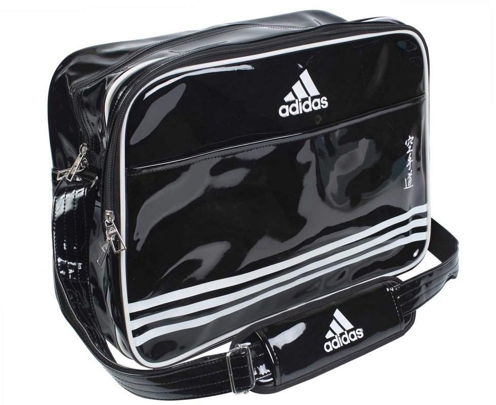ed39be089a3d Сумка спортивная Adidas Sports Carry Bag Karate L черно-белая  adiACC110CS2L-K
