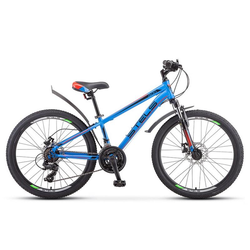 Купить Велосипед Stels Navigator 24 400 MD F010 2019 Синийкрасный (LU092747),