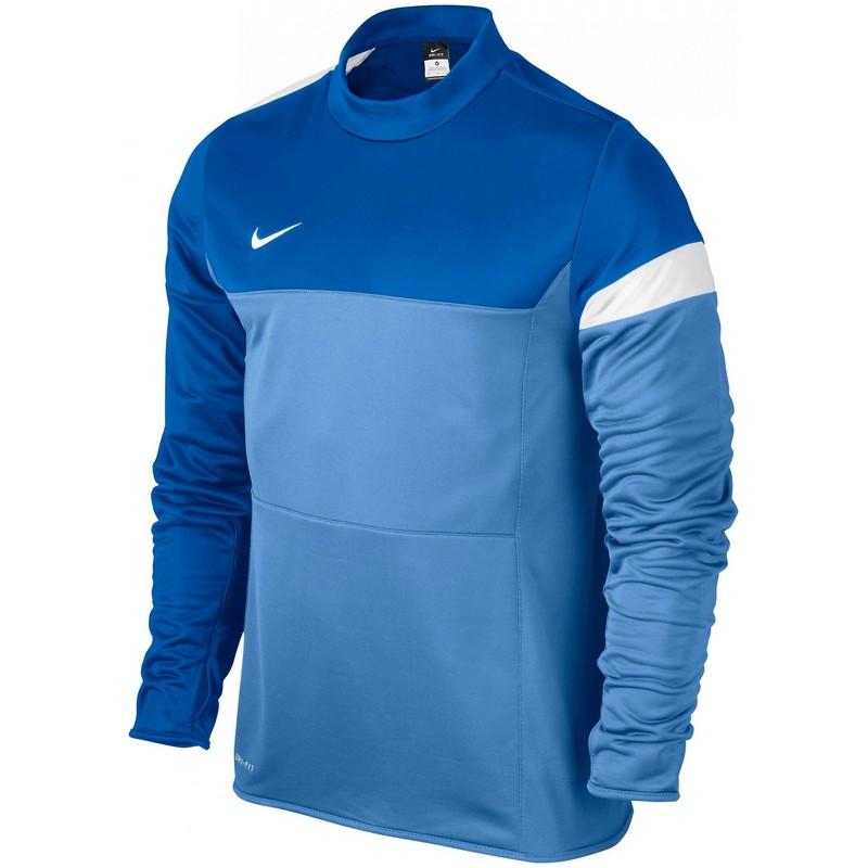 Свитер тренировочный Nike Comp13 Midlayer Top Ls 519062-412 синий свитера толстовки nike свитер тренировочный nike ls academy 14 midlayer 588471 657