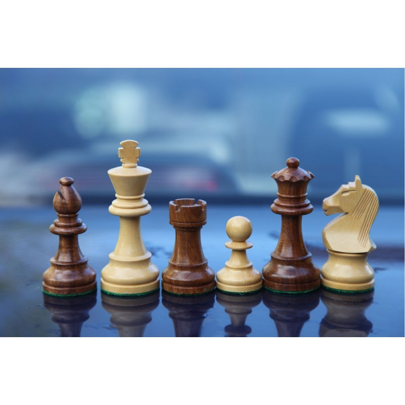 Купить Шахматные фигуры деревянные Стаунтон Люкс ШФ 23, NoBrand