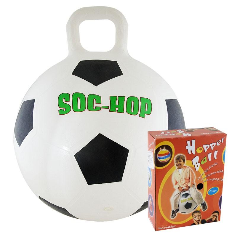 Мяч-попрыгун Футбол диаметр 50 см мяч попрыгун veld co с одной ручкой 50 см