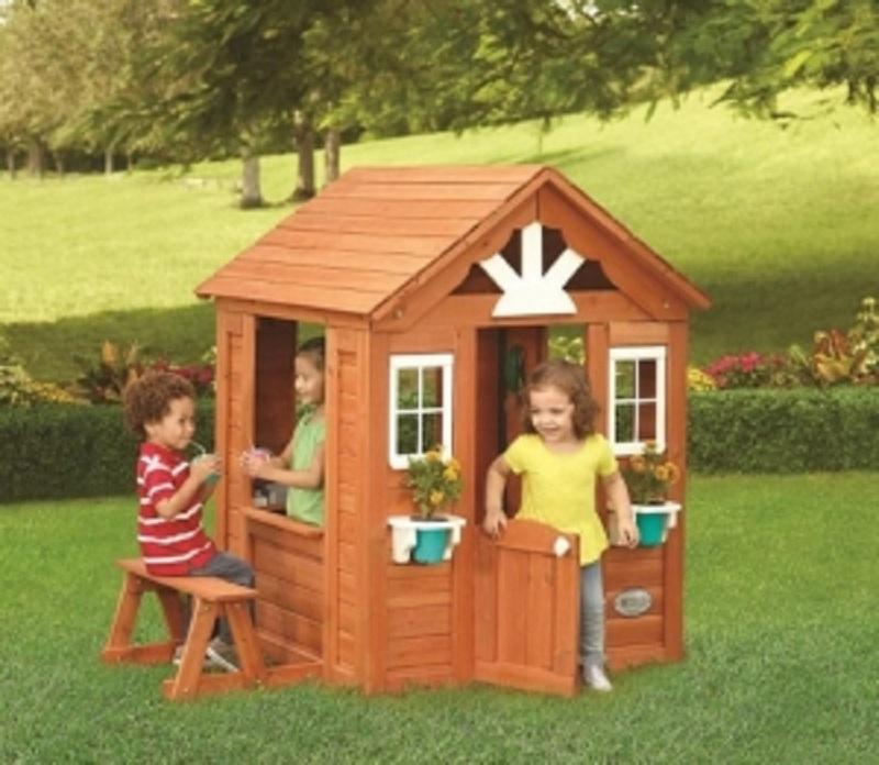 Детский игровой домик Selwood Products Солнечный коттедж игровой домик можга солнечный р910
