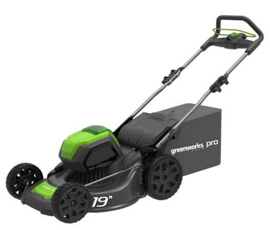 Газонокосилка GreenWork 82В 2502507 (без АКБ и ЗУ) аккумуляторная газонокосилка greenworks 82v 46 см несамоходная 2502407